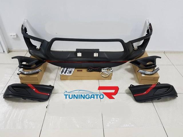 Аеродинамический обвес TRD для Toyota Hilux 2016