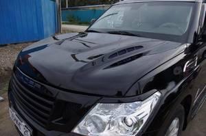 Тюнинг капот INVADER для Nissan Patrol (2010+)