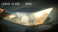 Реснички на фары тип2 для Lexus IS250 (05-13г)
