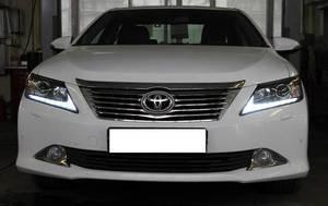 Фары комплект в стиле Lexus для Toyota Camry 2011-14г. V50