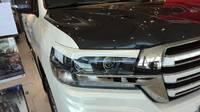 Реснички на фары для Toyota Land Cruiser 2015+