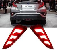 Диодные фонари в задний бампер для Toyota C-HR