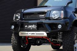 Тюнинговый передний бампер Jaos для Suzuki Jimny 43, 33 кузов