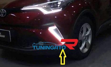 Штатные ходовые огни N2 для Toyota C-HR