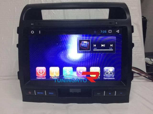 Штатная магнитола для Toyota Land Cruiser 200 на Android 6.0.1