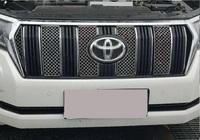 Металлические сетки в решетку радиатора для Toyota Prado 2018+