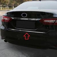 Хром накладка на крышку багажника для Toyota Camry 2017+