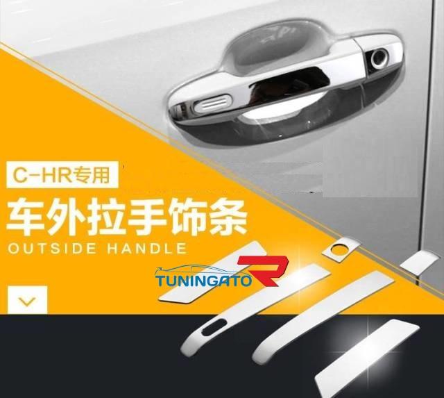 Хром накладки на ручки Toyota C-HR