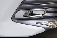 Хром накладки на туманки для Toyota Camry 2017+