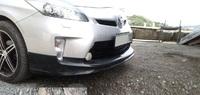Накладка на передний бампер Modellista v2 для Toyota Prius 2011-up