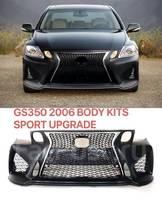 Бампер передний стиль F-Sport GS 17г. для Lexus GS (2005-12г)