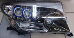 Фары Midwest в стиле Lexus LS600H хром LAND CRUISER 200 (07-)