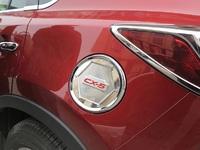 Хром накладка на крышку бензобака для Mazda CX-5 (2012-)