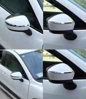 Хром накладки на зеркала для Mazda CX-5 (2012-)