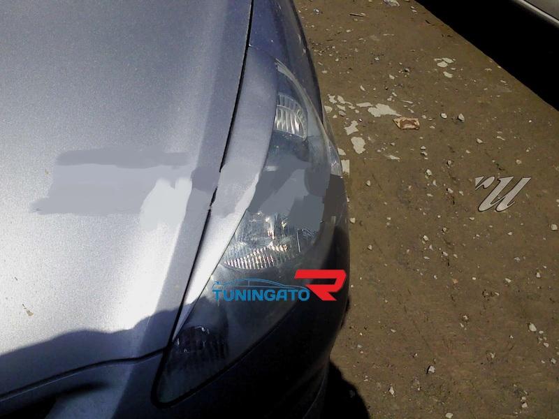 Реснички на фары Honda Fit/Jazz 01-07