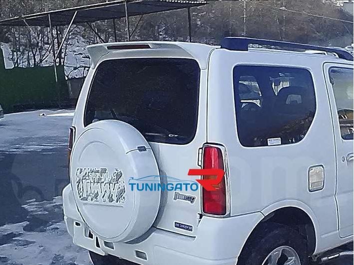 Спойлер на 5ю дверь со стоп-сигналом для Suzuki Jimny