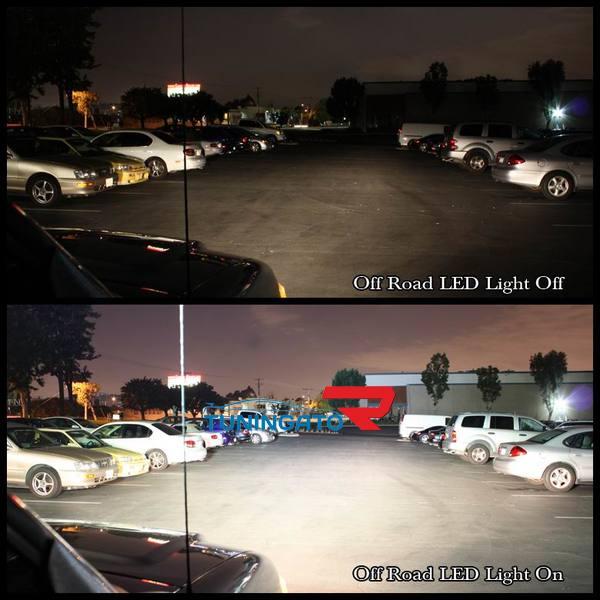 Светодиодная панель для авто 4х4 (620мм) 60LED