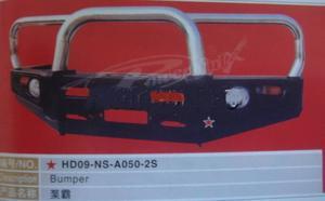 Бампер передний металлический HD07-NS-A050-2S Toyota Hilux Surf 96-02