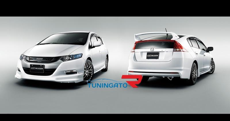 Аэродинамический обвес (Mugen) Honda Insight 07-