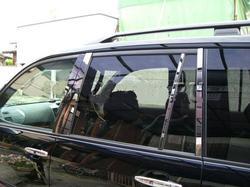 Хромированные накладки на дверные стойки FJ120-N0902 LAND CRUISER PRADO 120