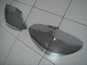 Очки на фары (дымчатые) HG570T TOYOTA COROLLA 120 (02-04)