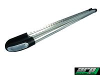 """Подножки боковые """"HUNTER"""" 60 мм/1,5 мм, полир. сталь Nissan NP-300 2008-"""