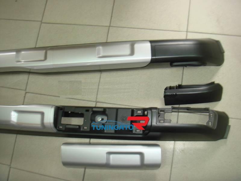 Рейлинги на крышу с фарами HD10-NS-D1243 NISSAN X-TRAIL (07-)
