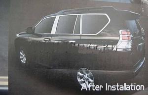 Хромированные молдинги кузова комплект из 24шт. для TOYOTA LAND CRUISER PRADO 150