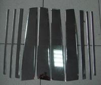 Хромированные накладки на дверные стойки для LEXUS GX460