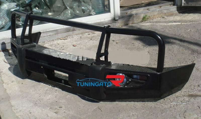 Бампер передний металлический TOYOTA HILUX SURF / 4 RUNNER (1995-2002)