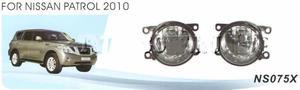 Противотуманные фары в бампер NS075X NISSAN PATROL Y62 (2010-)