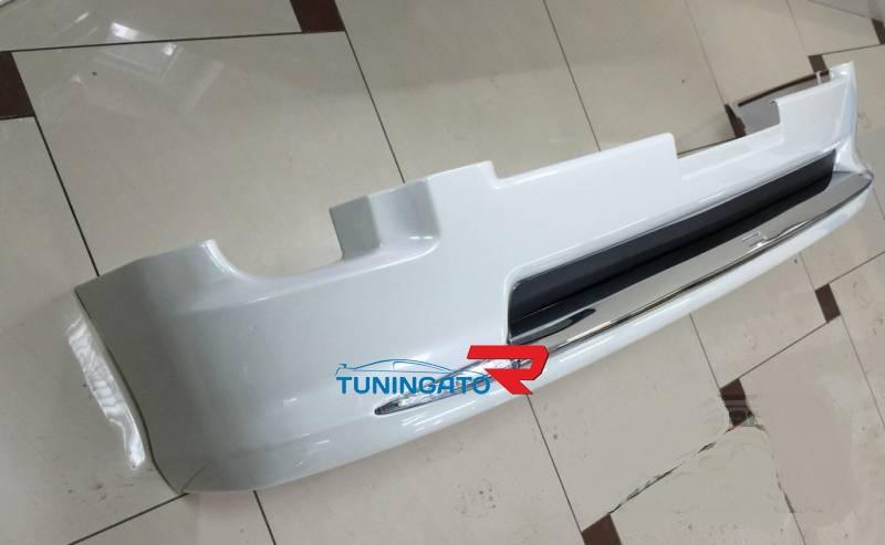 Обвес пластиковый на передний бампер Modellista  для LAND CRUISER 200 (2012-)