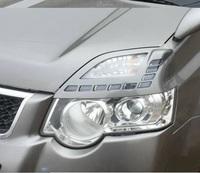 Реснички на фары для Nissan X-Trail 2009-13