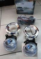 Противотуманные фары в бампер для TOYOTA LAND CRUISER PRADO 150 (2013-)