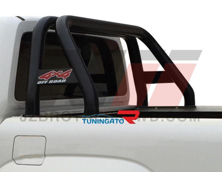 Дуга в кузов черная тип2 для Toyota Hilux 2015+