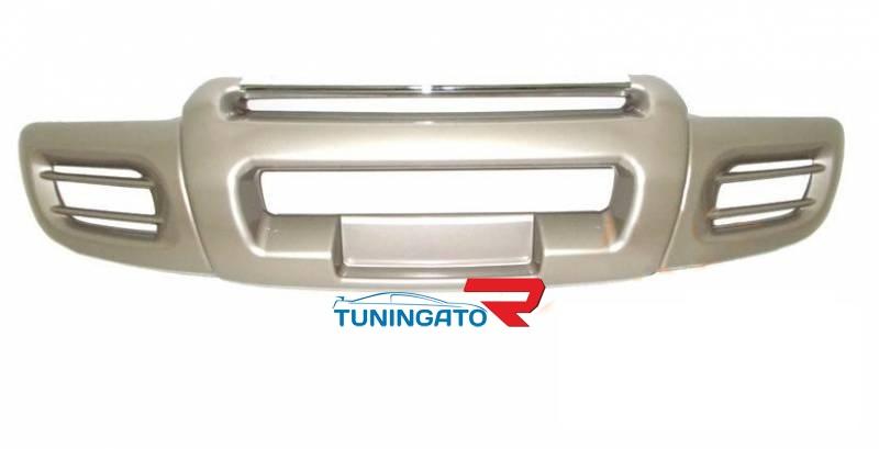 Накладка на передний бампер для TOYOTA LAND CRUISER 100 (1998-2002)