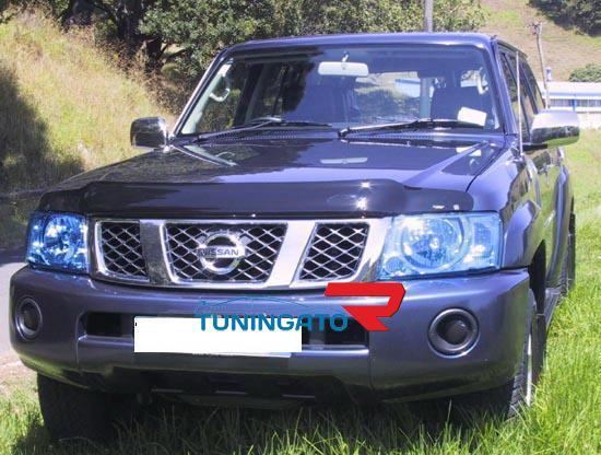 Дефлектор капота BG427 (чёрный) SAFARI / PATROL 2005