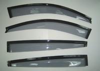 Ветровики дверные черные MITSUBISHI TRITON L200 2005