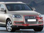 Audi Q7 комплект решеток на Audi Q7