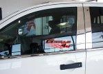 Audi Q7 накладки на дверные стойки