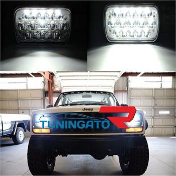 Фары диодные LED ближний\дальний свет для Toyota Hilux Pick Up 89-