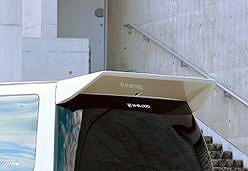 Спойлер задний W-Blood для Nissan Elgrand 97-02г.