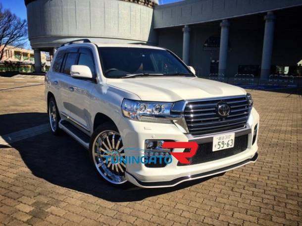 Аэродинамический обвес ELFORD аналог для Toyota Land Cruiser 2015г.