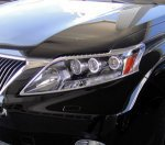 Хром накладки на фары для Lexus RX 2009-13г.