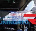 Хром накладки на задние стоп сигналы для Lexus RX 09-12г
