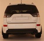 Mitsubishi Outlander XL Накладки заднего бампера