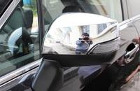 Хром накладки на зеркала Subaru Forester SJ 2013-2016г.