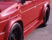 Расшерители колесных арок (фендера) ELFORD , под обвес, Япония для NISSAN TERRANO (89-95)