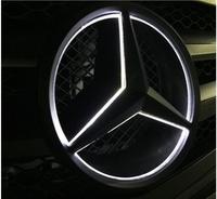 Эмблема с подсветкой в решетку радиатора для Mercedes