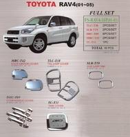 Хромированные накладки кузова для TOYOTA RAV4 (00-03)